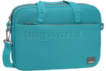 "American Tourister Biz Acc 15.4"" Laptop & Tablet Briefcase Turquoise 58173"