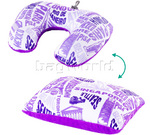 American Tourister 2 Way Magic Travel Pillow Purple 44997