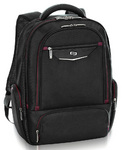 "Solo Executive 17.3"" Laptop & iPad Backpack Black XE700"