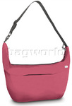 Pacsafe Slingsafe 400 GII RFID Blocking Anti Theft Women's Crescent Bag Berry PB130