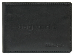 Samsonite RFID Blocking Leather Compact Wallet Black 59761