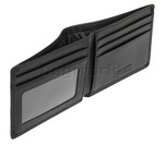 Samsonite RFID Blocking Leather Compact Wallet Black 59761 - 3