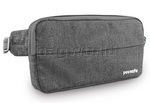 Pacsafe Metrosafe 125 GII RFID Blocking Anti Theft Cross Body & Hip Pack Grey Tweed 30140