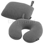 Eagle Creek 2-in-1 Travel Pillow Charcoal 41178