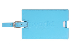 Eagle Creek Leather Luggage Tag Blue 41138