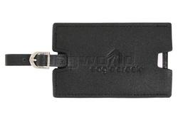 Eagle Creek Leather Luggage Tag Black 41138