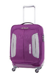 American Tourister Combimax Small/Cabin 55cm Softside Suitcase Purple 60685