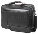 "Samsonite Essence Pro 15.6"" Laptop and Tablet Briefcase Black 58210"