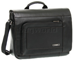 "Samsonite Savio Leather III 15.4"" Laptop Messenger Bag Black 60748"