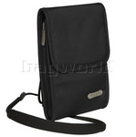 Travelon RFID Blocking Anti-Theft Neck Wallet Black 42220