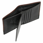 Cellini Men's Aston RFID Blocking Card Leather Wallet Brown MH205 - 4