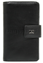 Cellini Ladies' Atlanta Medium Leather Wallet Black W1030