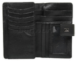 Cellini Ladies' Atlanta Medium Leather Wallet Black W1030 - 2