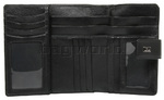 Cellini Ladies' Atlanta Medium Leather Wallet Black W1030 - 3