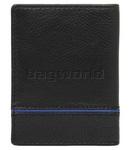 Cellini Men's Noble RFID Blocking Leather Wallet Black M0371 - 1