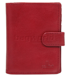 Cellini Ladies' Tuscany Medium Book Leather Wallet Red W0110