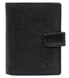 Cellini Ladies' Tuscany Medium Book Leather Wallet Black W0110