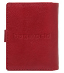 Cellini Ladies' Tuscany Medium Book Leather Wallet Red W0110 - 1