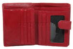 Cellini Ladies' Tuscany Medium Book Leather Wallet Red W0110 - 2
