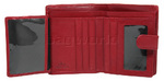 Cellini Ladies' Tuscany Medium Book Leather Wallet Red W0110 - 3