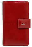 Cellini Atlanta Leather Purse Red W1030