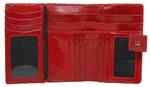 Cellini Ladies' Atlanta Medium Leather Wallet Red W1030 - 3