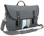 "Targus Geo 15.6"" Laptop and Tablet Messenger Bag Grey SM689"