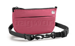 Pacsafe Slingsafe 75 GII RFID Blocking Anti Theft Sling Purse & Hip Pouch Berry PB124