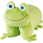 GO Travel Kids Frog Folding Pillow G2694 - 2