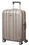 Samsonite Lite-Cube Small/Cabin 55cm Hardside Suitcase Ivory Gold 58622
