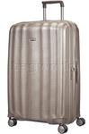 Samsonite Lite-Cube Extra Large 82cm Hardside Suitcase Ivory Gold 58625