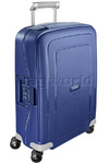Samsonite S'Cure Small/Cabin 55cm Hardside Suitcase Dark Blue 56342