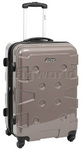 Jeep Cherokee Medium 67cm Hardside Suitcase Sand 8300B
