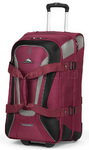 High Sierra AT7 66cm Wheeled Duffel with Backpack Straps Boysenberry AT758