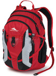 "High Sierra Aggro 17"" Laptop Backpack Crimson 55014"