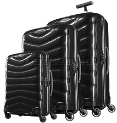 Samsonite Firelite Hardside Suitcase Set of 3 Charcoal 72001, 72003, 72004 with FREE Samsonite Luggage Scale 34042