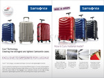 Samsonite Firelite Hardside Suitcase Set of 3 Chilli Red 72001, 72003, 72004 with FREE Samsonite Luggage Scale 34042 - 6