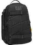 "CAT Millennial Bryan 17.3"" Laptop Multi-Function Backpack Black 80026"