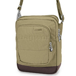 Pacsafe Citysafe LS75 RFID Blocking Anti Theft Cross Body Travel Bag Rosemary 20305