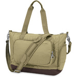 "Pacsafe Citysafe LS400 RFID Blocking Anti Theft 13"" Laptop Travel Tote Rosemary 20350"