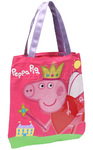 Peppa Pig Library Bag Pink PP03