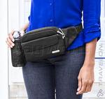 Travelon Classic Anti-Theft Waist Pack Black 42223 - 7