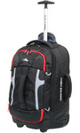 High Sierra Composite Small/Cabin 56cm Wheeled Duffel with Backpack Straps Black 63216