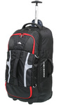 High Sierra Composite Medium 74cm Wheeled Duffel with Backpack Straps Black 63217