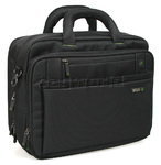 "Solo Tech 15.4"" Laptop Briefcase Black CA302"