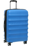 Antler Juno Medium 68cm Hardside Suitcase Blue 34923