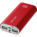 GO Travel Power Bank Twin Red GO965