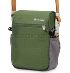 Pacsafe Camsafe V4 RFID Blocking Anti-Theft Compact Camera & Mini Tablet Travel Bag Olive 15130