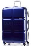 American Tourister Cube Pop Large 79cm Hardside Suitcase Midnight Blue 62362