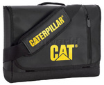 "CAT Tarp Power Bryce 15.4"" Laptop Messenger Bag Black 83027"